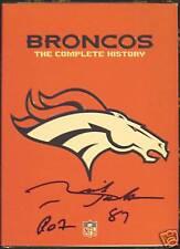 RICH JACKSON Signed Broncos History DVD w/ ROF Inscr.