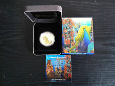 2010 50c SEAHORSE Sea Life 1/2oz Silver Proof Coin