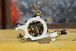 Handmade tattoo machine medium liner 5-14rs, Running 140-145 Hz @ 4.5 V Unloaded