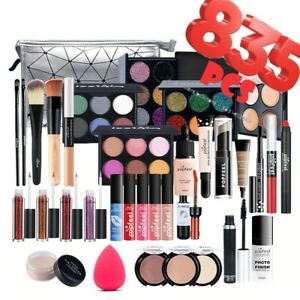 ✔️✔️✔️Fashion Make Up Kit  835pcs Full Set Light Cosmetic Combination Waterproof