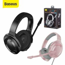 Baseus Gaming Headset Wired Headphones Earphone with Mic for PC PS4 Switch Xbox