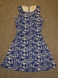 Ladies Louche Summer Dress Size 8 / XS