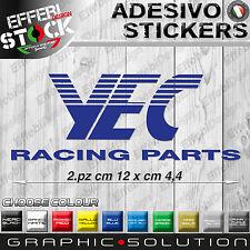 Adesivo Sticker  YAMAHA YEC FACTORY RACING R6 R1 FZ1 FZ6 CUP X T MAX MT 01 10