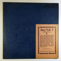 Jazz Volume 5: Chicago No. 1 LP 1952 Folkways Records Big Band Jelly Roll Morton