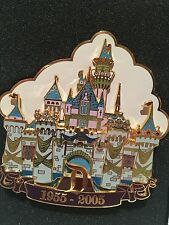 Disneyland Dlr 50th Anniversary Pin Cast Exclusive Jumbo Jeweled Castle