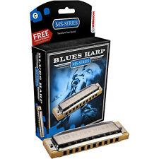 Hohner Blues Harp Diatonic Harmonica MS 532 KEY OF A B C D E F G SHARP FLAT