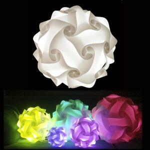 Puzzle IQ ZE Lights Jigsaw Lamp Infinity 10 Pack, Choose SML & 24 Colors USA