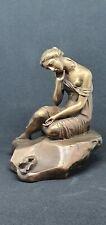 Bronzefigur Russland Bronze Figur Art Deco