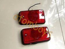 BMW SERIES 5 E12 528i 530i SIDE MARKER LIGHT REAR RED TURN SIGNAL new