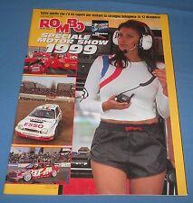 rivista ROMBO speciale Motor show 1999