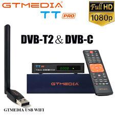 TT PRO H.265 Satellite Receiver+USB WIFI FTA HD 1080P DVB-C DVB-T2/T Tunner PVR