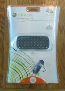 Brand New and Sealed Microsoft Xbox 360 Live Messenger Kit Keyboard Headset