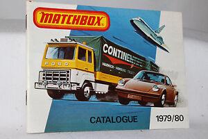 Matchbox Superfast Toys, 1979/80 Collectors Catalog, Original