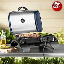 Electric Grill Portable Outdoor Tabletop Grills BBQ Camping Barbecue Nonstick
