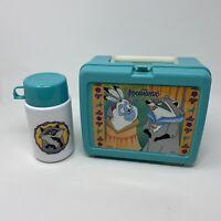 Vintage 90's Lunch Box Thermos Hardshell Disney Pocahontas Set