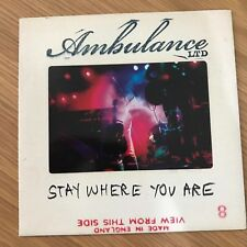 "Ambulance Ltd. - Stay Where You Are - 7"" Single - UNPLAYED - Discount For 2+"