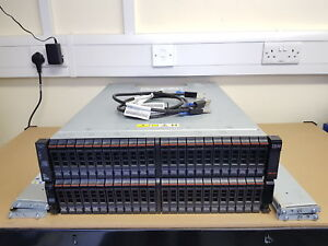IBM STORWIZE 28.8TB V7000 2U 8Gbps Fibre Channel 1Gbps Gigabit iSCSI SAN Array