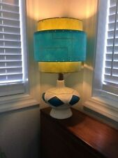 Mid Century Vintage Style 3 Tier Fiberglass Lamp Shade Modern Atomic Retro OL/T