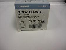 Lutron RRD-10D-WH RadioRA 2