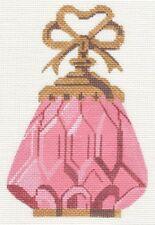 Needlepoint Handpainted Labors of Love Pink PERFUME 4x6
