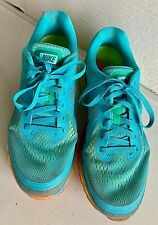 2013 Nike Air Max Men's Size 10..Turquoise Netting Neon Orange/Lime Soles