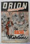 Orion - Romanserie - Görlich - Wien 1946 - Heft 1 - Die Sache mit Madeleine (A6)