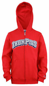 Outerstuff MILB Youth (8-18) Lehigh Valley Ironpigs Wordmark Hoodie, Red