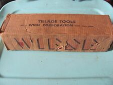 NOS Wiese Corporation Tillage Tools W422