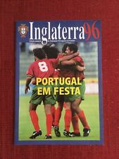 Inglaterra 96 Rare Portuguese Issued Brochure For Euro '96 Tournament In England