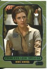 Star Wars Galactic Files 2 Base Card #510 Princess Leia Organa