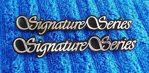 NICE Original OEM 90-97 Town Car Chrome SIGNATURE SERIES Fender Ornament Emblem