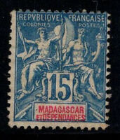 Madagaskar 1896 Yv. 33 Ungebraucht * 40% 15 c
