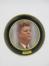 DANIEL GREENE JOHN F KENNEDY JFK METAL PLATE 1963