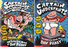 Complete Set Series - Lot of 12 Captain Underpants books by Dav Pilkey (YA Fic)