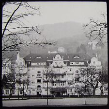 Glass Magic Lantern Slide SAN BADEN DATED MARCH 1911 SWITZERLAND