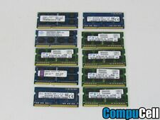 LOT OF 10 4GB DDR3 SO-DIMM 204-pin PC3L-12800S 1600MHz Laptop Memory RAM