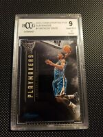 2012-13 NBA starting five playmakers ANTHONY DAVIS rookie BGS BCCG 9