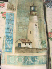 1 LIGHTHOUSE~COAST KITCHEN~BATH~SHOP~COTTAGE quality HAND TOWEL for craft or use