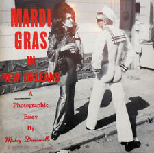 Mickey Photography Demoruelle / Mardi Gras In New Orleans 1970 First Edition