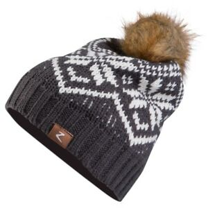 Horze brand Youth kids size MONIKA SHOWFLAKE DESIGN HAT w/ Fur pompom 2 COLORS!