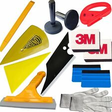 3M Blue Felt Edge Decals Sticker Vinyl Sheet Squeegee Car Wrap Applicator Tools