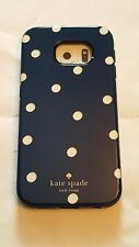 Kate Spade Hybrid Hardshell Case Scatter Pavilion Navy Cream Gold Galaxy S6 EDGE