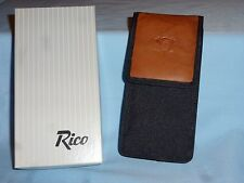 ANAHEIM MIGHTY DUCKS Leather/Nylon EYEGLASS CASE  by Rico  NIB