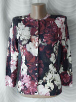 🔻Karen Millen  Floral Rose Cropped  Cardigan Size UK 8