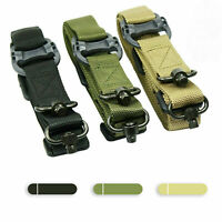 "Retro Tactical Quick Detach QD 1 or 2 Point Multi Mission 1.2"" Rifle Sling Nylon"