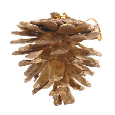 27pc Natural Pine Cones Christmas Tree Hanging Ornament Branch Wreath Decoration