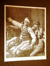A mosca cieca Quadro di Arturo Moradei del 1887
