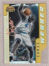 1996-97 Bowman's Best Basketball - Cuts BC18 Chris Webber - Refractor
