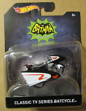 Hot Wheels BATMAN CLASSIC TV SERIES BATCYCLE ~ Batman
