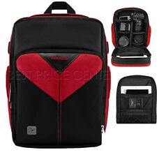 For Lytro SLR ILLUM  PRO Sparta Compact DSLR Camera Backpack Bag Case Red